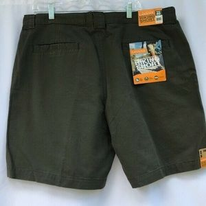 Savane Men's Hiking Walking Causal Shorts Olive Si